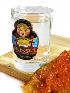 Набор стопок для водки Россия