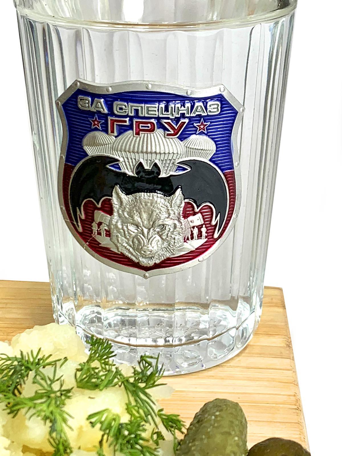 Подарочные стаканы Спецназ ГРУ