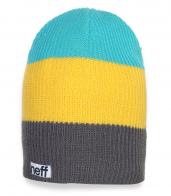 Классная разноцветная шапка Neff