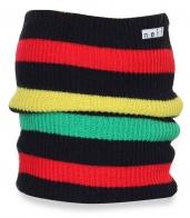 Модная разноцветная шапка Neff