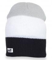 Классная вязанная шапка с логотипом Neff