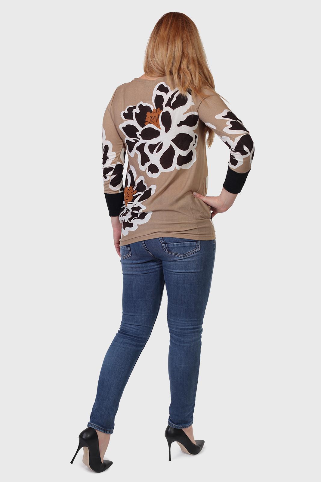 Купить в интернет магазине модную трикотажную женскую кофту