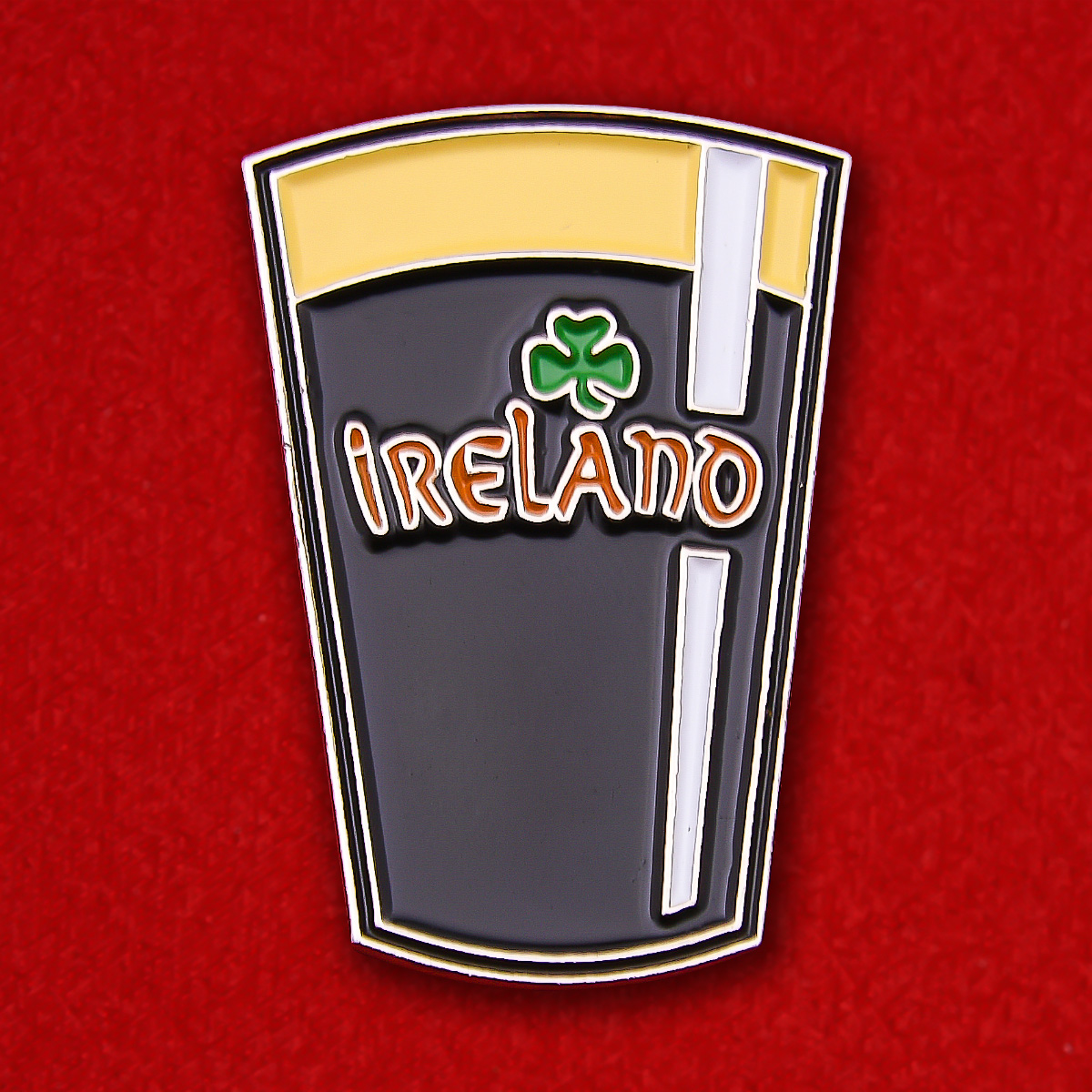 "Ирландский значок ""Бокал Гиннесса"""