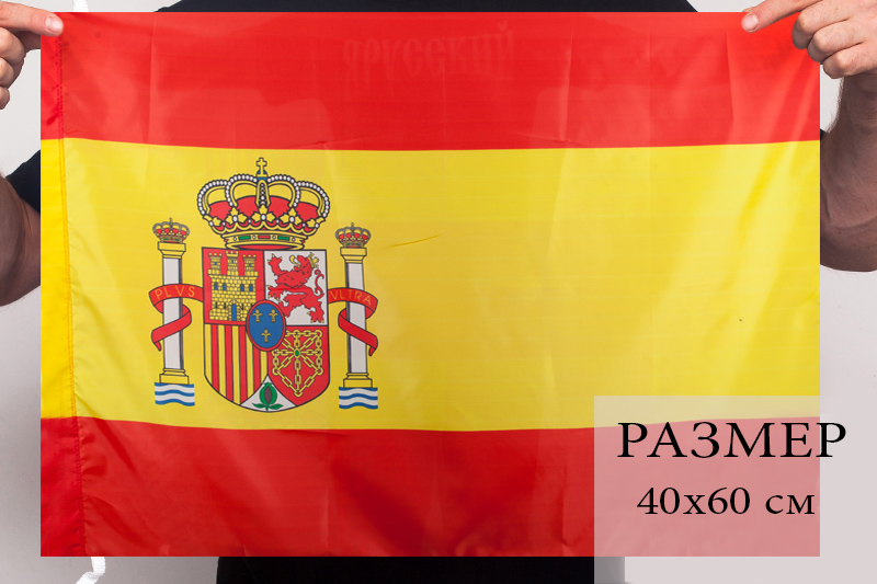 Испанский флаг 40x60 см