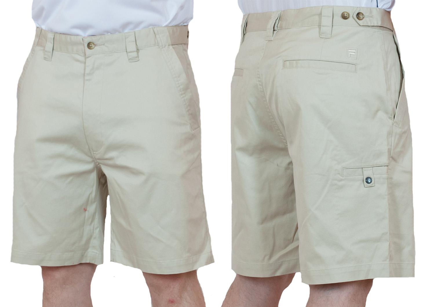 Стильные светлые мужские шорты