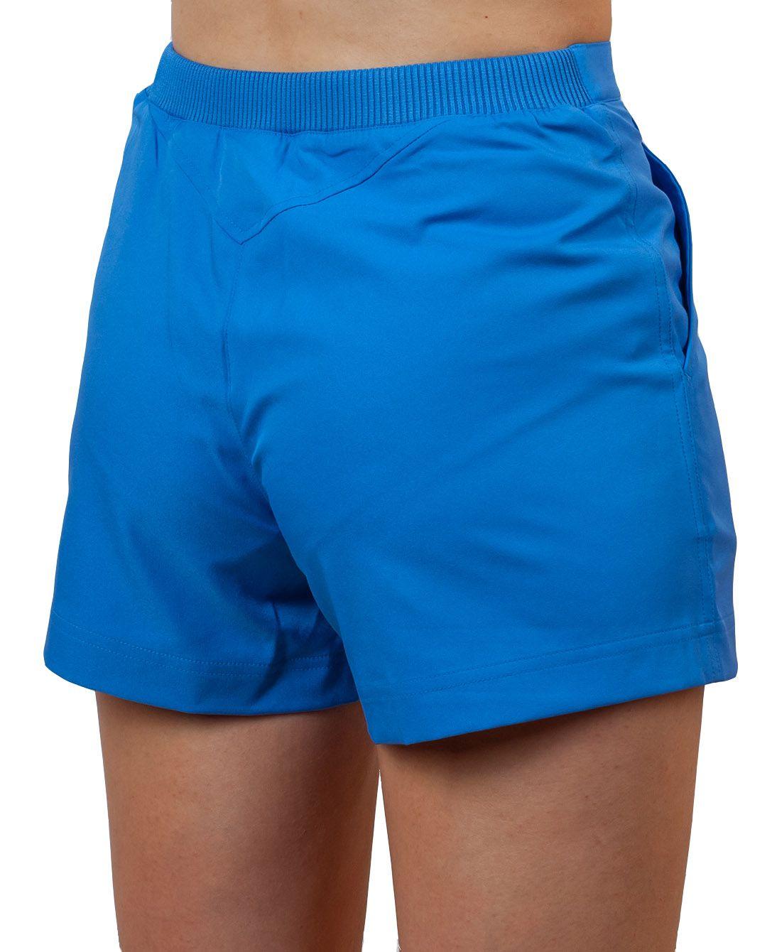 Женские шорты итальянского стиля - вид сзади