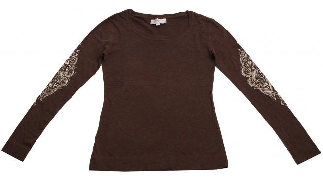 Изумительная коричневая кофточка бренда Panhandle Slim оригинального дизайна
