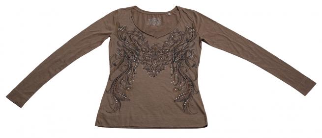Изумительная женственная кофточка с насыщенным принтом бренда Panhandle Slim