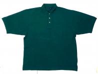 Изумрудная футболка поло мужская