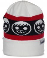 Изящная брендовая женская шапка с отворотом от Neff