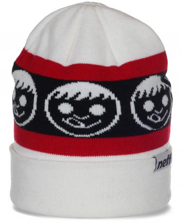Изящная брендовая женская шапка с отворотом от Neff популярный модерновый дизайн