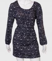 Изящное платье с пояском от бренда QET London