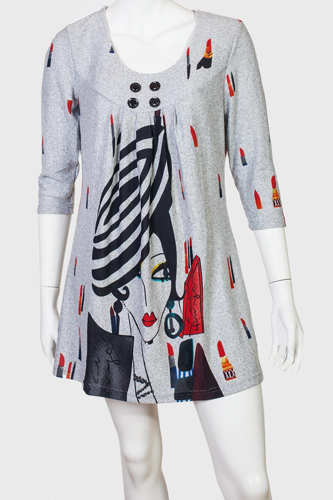 Изящное платье-туника Le Grenier