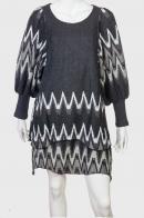 Изысканное двухслойное платье бренда GOA.
