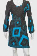 Изысканное темное платье от Outrage