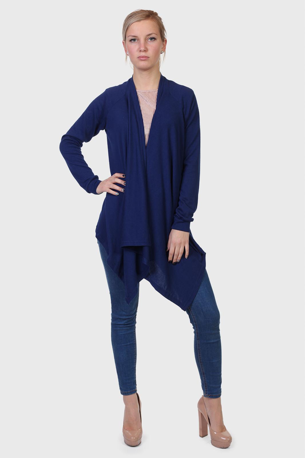 Синяя кофта туника от бренда Color