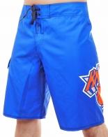 Яркие бордшорты с логотипом легендарного баскетбольного клуба NEW YORK KNICKS