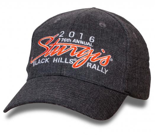 Качественная кепка от Sturgis BLACK HILLS® RALLY