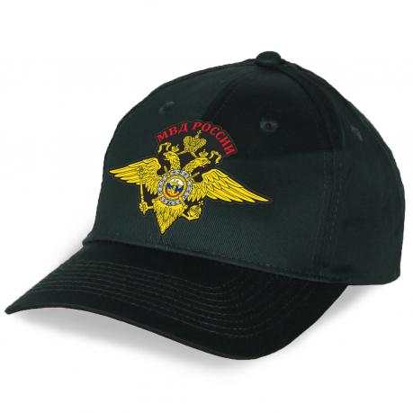Качественная кепка с гербом МВД России
