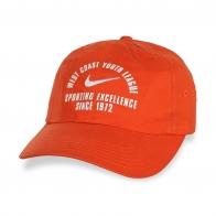 Качественная оранжевая бейсболка.