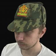 Мужская камуфляжная кепка пограничника