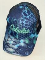 Камуфлированная бейсболка Cabela's неоновых оттенков