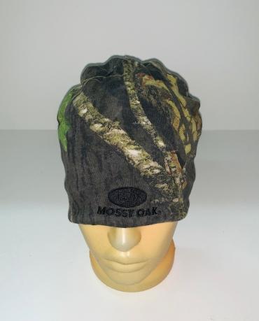 Камуфлированная шапка Mossy Oak