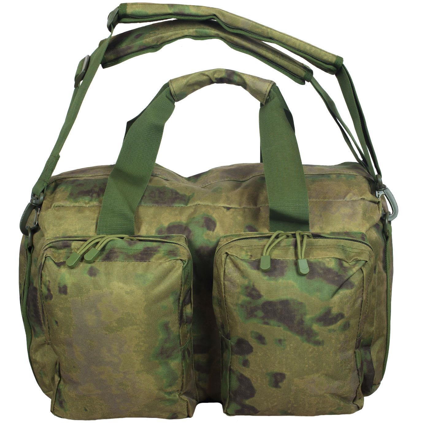 Камуфлированная заплечная сумка с нашивкой Погранвойска - заказать оптом