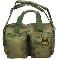 Камуфлированная заплечная сумка с нашивкой Танковые Войска
