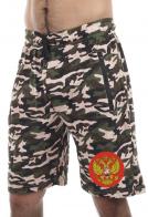 Камуфлированные шорты мужские