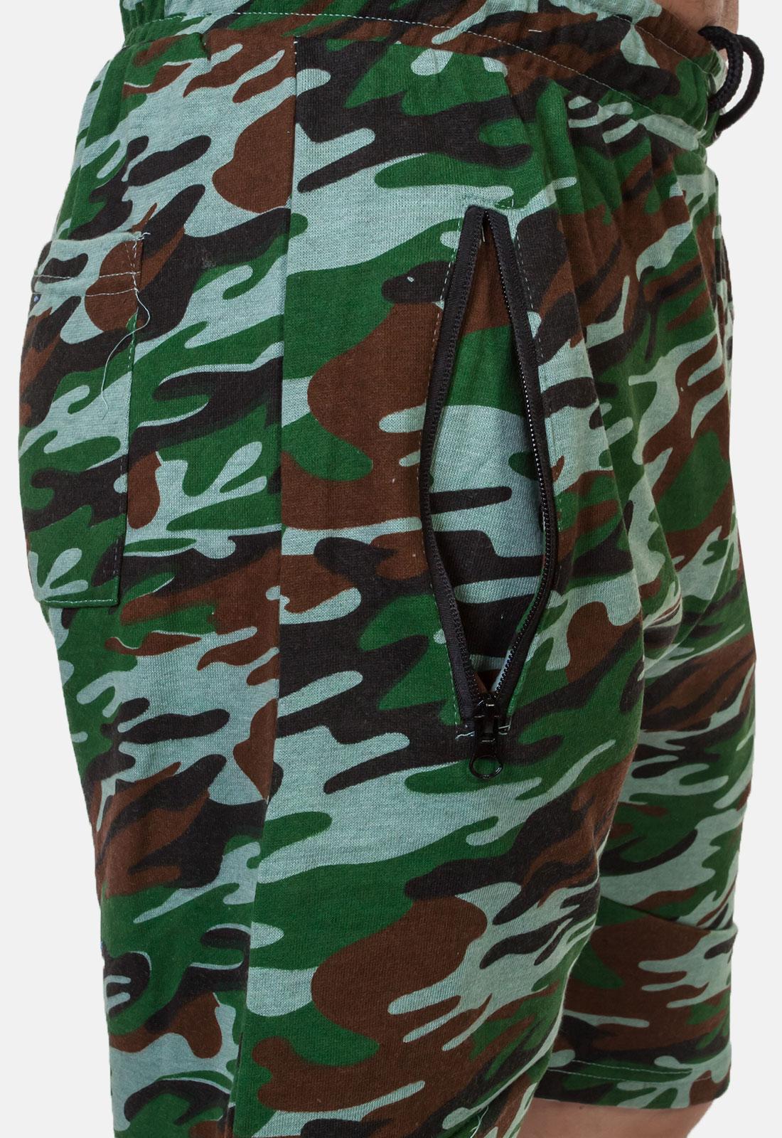 Камуфлированные армейские шорты с нашивкой Флот России - заказать в подарок