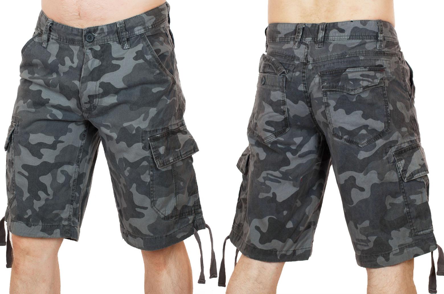 Камуфлированные шорты - купить с доставкой