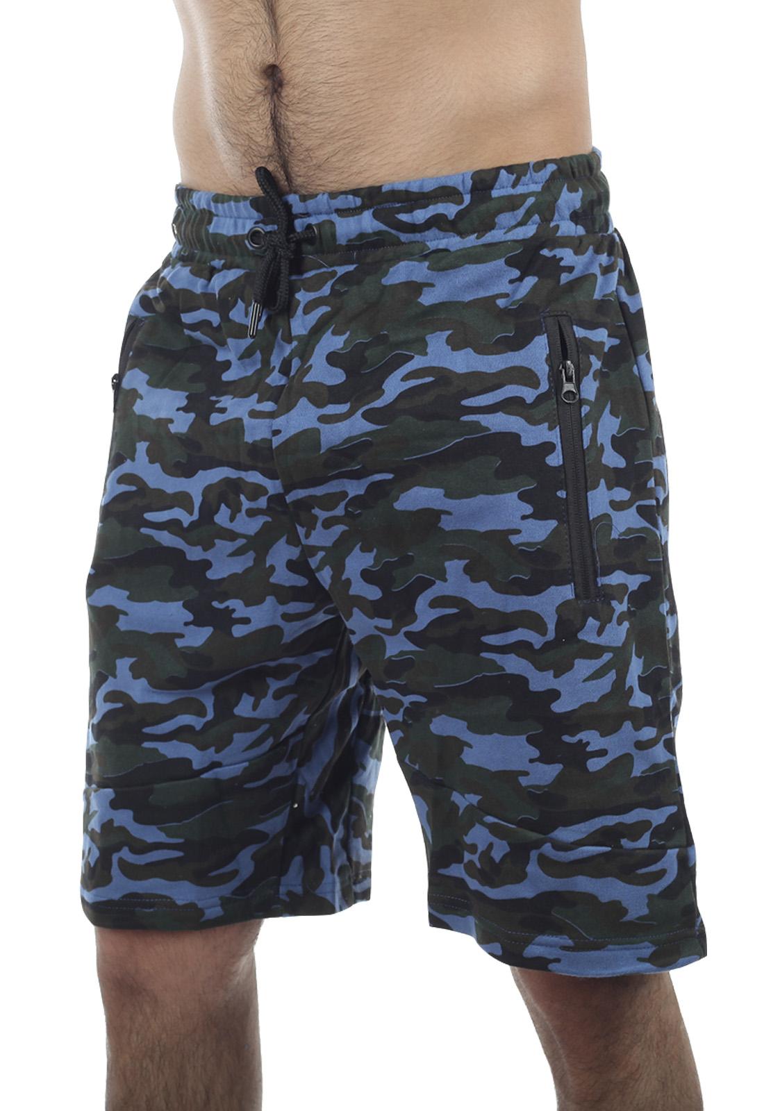 Камуфлированные мужские шорты New York Athletics