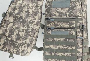 Камуфлированный крутой рюкзак с нашивкой Лучший Охотник - заказать с доставкой