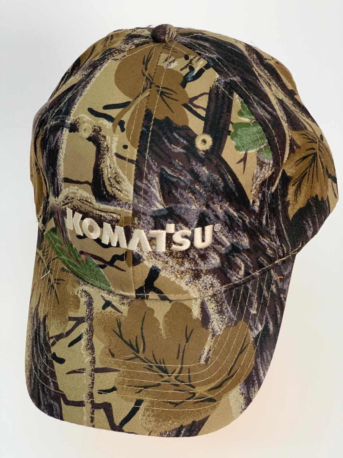Камуфляжная бейсболка Komatsu