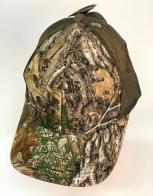 Камуфляжная летняя бейсболка Realtree с коричневой сеткой