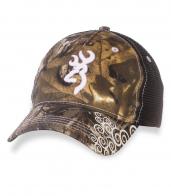 Камуфляжная женская кепка Browning Realtree.