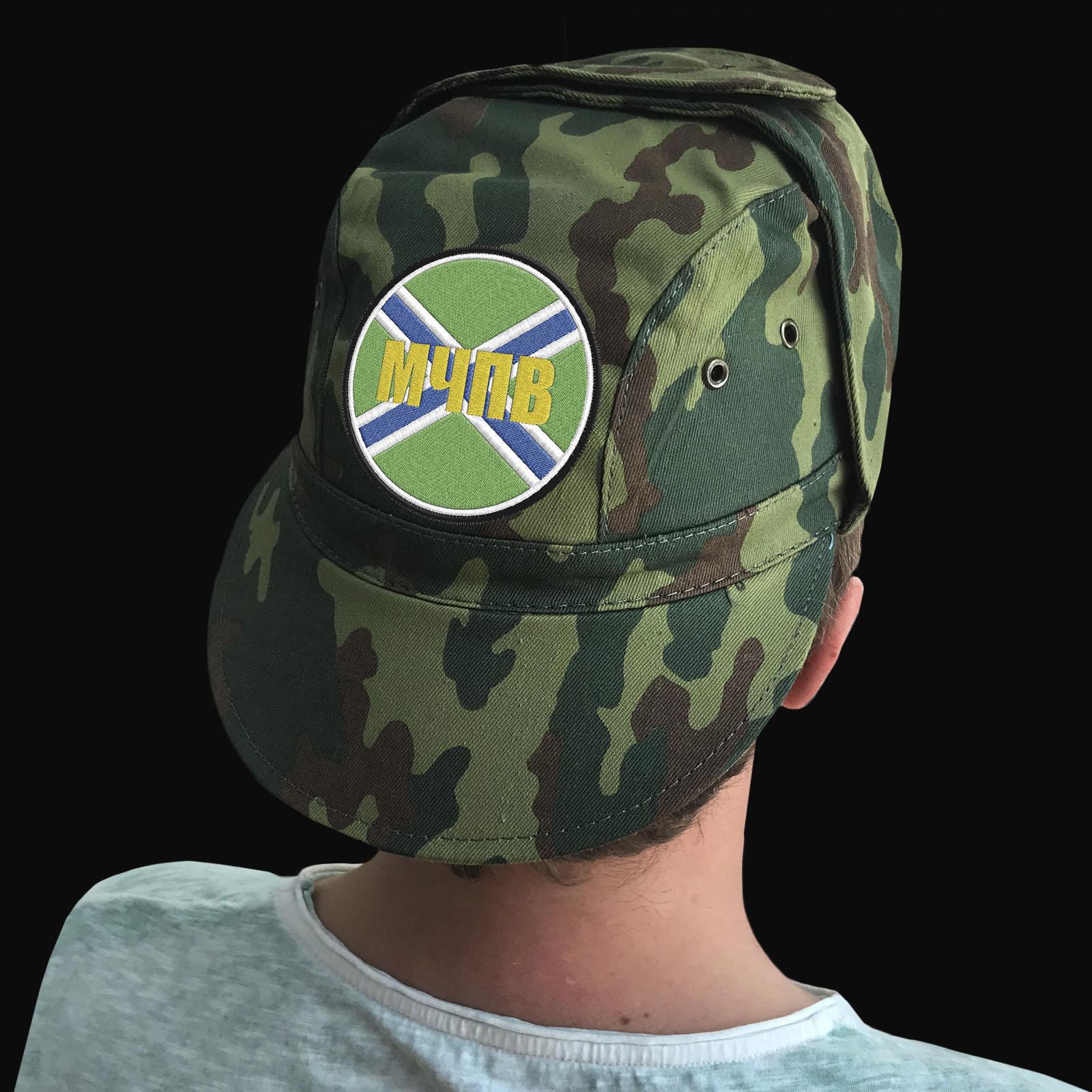 Мужские кепки с вышитой символикой Морчастей Погранвойск