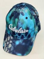 Камуфляжная бейсболка Cabela's неоновых оттенков