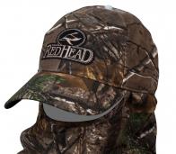 Камуфляжная бейсболка-маска Red Head.