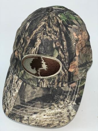 Камуфляжная бейсболка Mossy Oak с овальной вышивкой