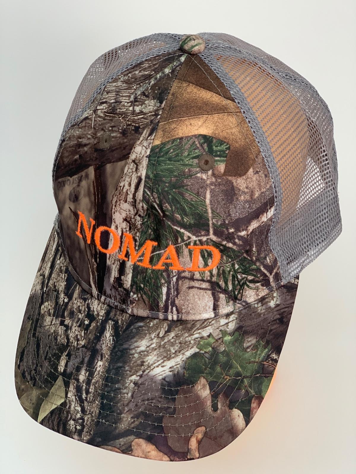 Камуфляжная бейсболка Nomad со светлой сеткой