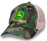 Камуфляжная бейсболка от John Deere