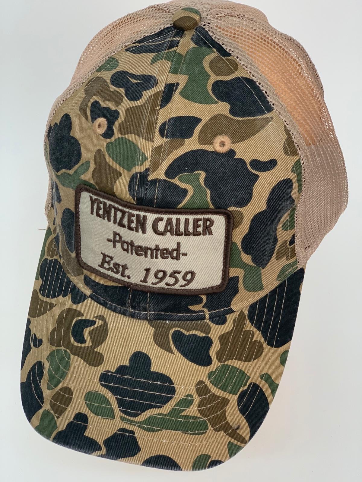Камуфляжная бейсболка Yentzen Caller с бежевой сеткой