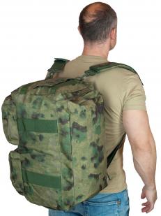 Камуфляжная дорожная сумка в виде рюкзака