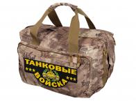 Камуфляжная дорожная сумка Танковые Войска