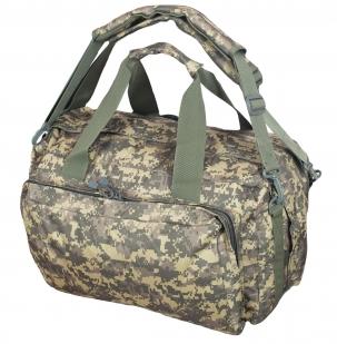 Камуфляжная эргономичная сумка-рюкзак Танковые Войска - купить онлайн