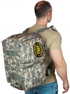 Камуфляжная эргономичная сумка-рюкзак Танковые Войска - купить в розницу