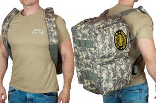 Камуфляжная эргономичная сумка-рюкзак Танковые Войска - купить в Военпро