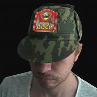 Камуфляжная форменная кепка с вышивкой Рожден в СССР